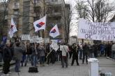 PROTEST ZBOG ČELNIKA SNS U VRŠCU